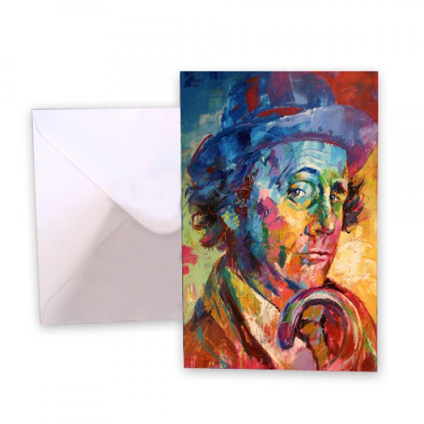 Dr Who 7 Sylvester McCoy Greeting Card