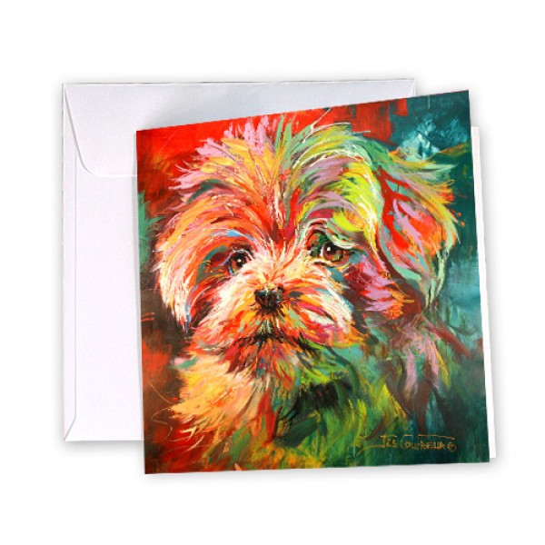 Greeting Card - Maltese Terrier 144