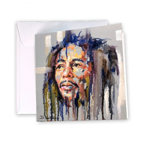 Bob Marley 6 Greeting Card