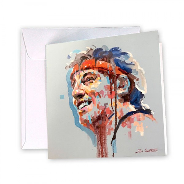 Bruce Springsteen 4 Greeting Card