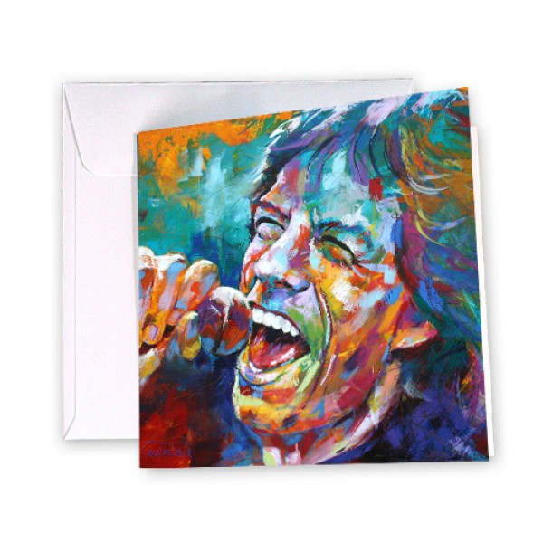 Mick Jagger Card